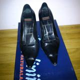 Pantofi dama, marimea 36 1/2, piele interior si exterior