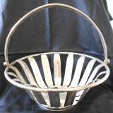 Cos mare alama argintata provine din Germania - Metal/Fonta
