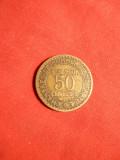 Moneda 50 Cent. Franta 1922 ,bronz , cal.Buna-F.Buna, Europa
