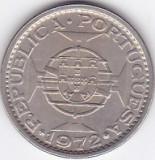Moneda Angola (colonie portugheza) 5 Escudos 1972 - KM#81 UNC (valoare catalog $45)