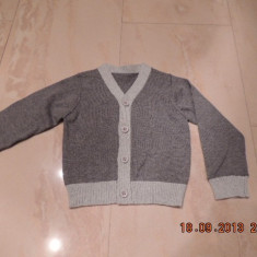 Sfeter, pulover copii 2 ani NOU, Culoare: Gri