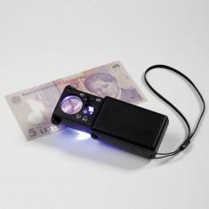Leuchtturm lupa de marire 10x/30x cu lumina + UV