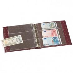 Album Numis cu caseta avec 20 foi pentru banknote