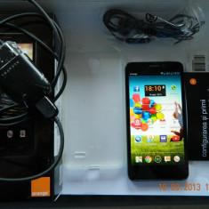 San Remo / Alcatel Idol 6030X - Telefon Alcatel, Gri, 8GB, Neblocat, Dual core, 1 GB