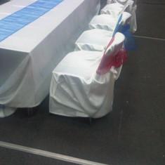 Husa scaun saten - Decoratiuni nunta