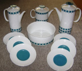 Set / Serviciu - cafea / ceai - portelan Bavaria - Thomas (Rosenthal) - 1960