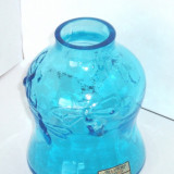 Vaza cristal saphire suflata manual - design Amie Stalkrantz Lindqvist, Mantorp - Vaza sticla