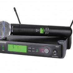 Cumpara ieftin CEL MAI BUN MICROFON WIRELESS-SHURE SM 58  SLX2 ,CU RECEIVER SLX4 UHF,PRET OKAZIE!