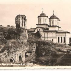 CPI (B2980) TARGOVISTE. BISERICA DOMNEASCA CU RUINELE, EDITURA MIMOSA, CIRCULATA, 1942, STAMPILE, TIMBRE