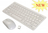 Cumpara ieftin SUPER KIT TASTATURA WIRELESS + MOUSE WIRELESS TIP APPLE,2.4GHZ.PROMOTIE!