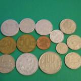 Lot Romania 14 monede diferite