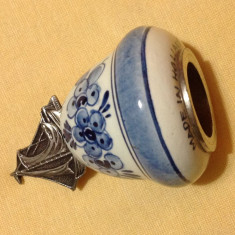 Piesa decorativa din portelan olandez, Decorative