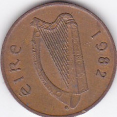 Moneda Irlanda 1 Penny 1982 - KM#20 VF