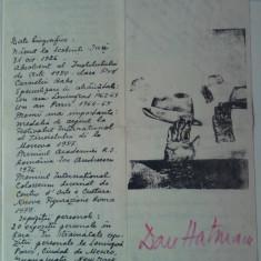 Dan Hatmanu, Invitatie la expozitia Orele Parisului, 1982