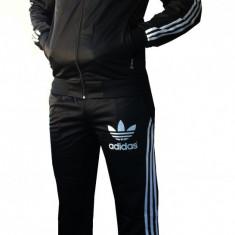 Trening ADIDAS Bluza si pantaloni din sylon - Trening barbati Adidas, Marime: S, M, L, Culoare: Alb, Auriu, Bleu, Poliester