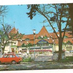 Carte postala(marca fixa)-TARGU MURES-Restaurantul(platoul Cornesti)