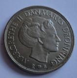 1 coroana 1987 Danemarca / 1 krone 1987 Danemarca UNC