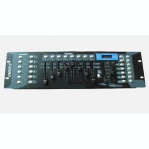 CONTROLLER DMX512 PROFESIONAL PT.LUMINI DISCO,MASINI DISCO,EFECTE DISCO.