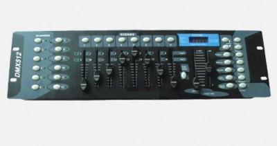 CONTROLLER DMX512 PROFESIONAL PT.LUMINI DISCO,MASINI DISCO,EFECTE DISCO. foto
