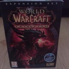 Joc PC World WarCraft Cataclysm - original, Role playing, 16+, Multiplayer