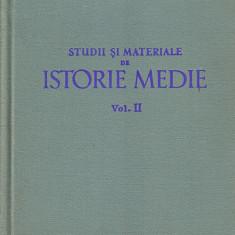 Studii si Materiale de Istorie Medie*vol. II
