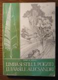 Carte - Florin D. Popescu - Limba si stilul poeziei lui Vasile Alecsandri