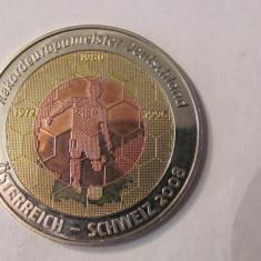 CY - Jeton fotbal EURO 2008 / TRIMETALAustria Elvetia Germania - Jetoane numismatica