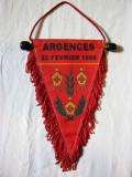 REDUCERE Fanion vechi crosul pompierilor - Argences 1998 de la 13 lei la 10 lei !!!