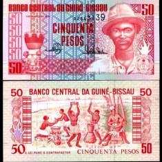 GUINEEA BISSAU- 50 PESOS 1990- UNC!! - bancnota africa