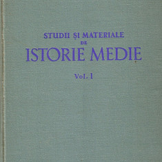 Studii si Materiale de Istorie Medie *vol. I