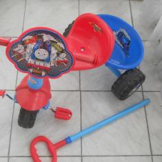 Tricicleta clasica pentru copii - Tricicleta copii, 2-4 ani, Unisex, Bleu