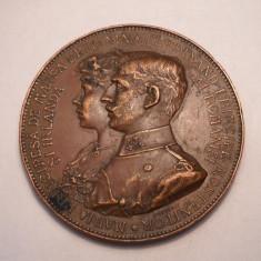 Medalie Logodna Principelui Ferdinand cu Maria 1892 2