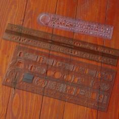 Set - 2 rigle deosebite produse de Miele si Koh i Noor !!!
