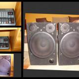 Boxe 400w + mixer amplificat