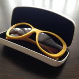 OCHELARI: D&G 8083 Sunglasses Yellow / Galbeni