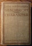 Carte - Otto Weininger - Geschlecht und Charakter