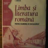 Carte - A. Costache, Fl. Ionita, Gh. Lazarescu, A. Savoiu, F. Samihaian - Limba si literatura romana - Pentru examenul de Bacalaureat
