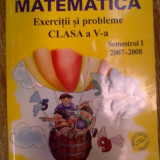 Matematica exercitii si probleme clasa a V a - Ion Ghica, Ghe. Drugan