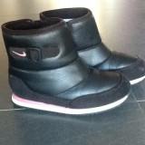 Ghete NIKE nr.25, 5 - Ghete copii Nike, Culoare: Negru, Fete