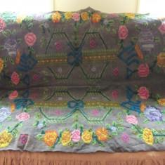 SM5. CUVERTURA TARANEASCA / MACAT DIN LANA - tesatura textila