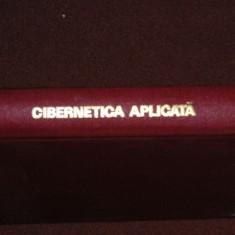 CIBERNETICA APLICATA - MANEA MANESCU, MIHAIL FLORESCU - Carte Cibernetica