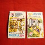 Serie- 125 Ani Crucea Rosie 1968 NIGERIA, 2 val. - Timbre straine