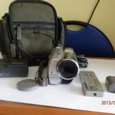 Vand camera video semiprofesionala Panasonic NV-GS180 cu3CCD-uri, 2-3 inch, Mini DV