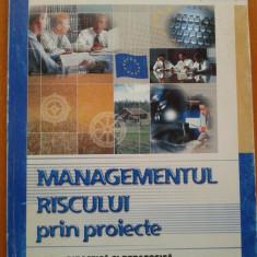 MANAGEMENTUL RISCULUI PRIN PROIECTE - Gheorghe Negoescu - Carte Management