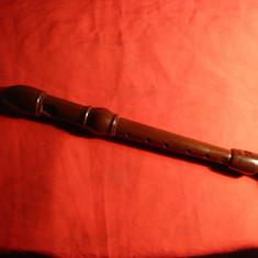 Flaut Anglia anii '50 ,bachelita Dolmestch Dolomite Descant Recorder