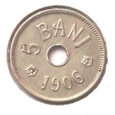 ROMANIA 5 BANI 1906 J F FRUMOASA ** - Moneda Romania
