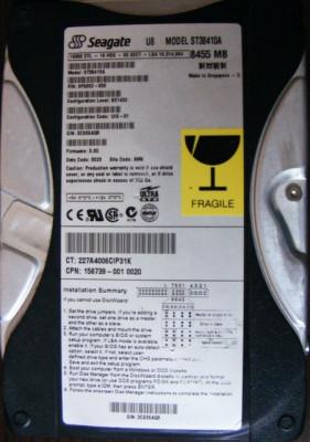 Hard disk 8G Seagate foto