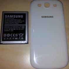 Acumulator Samsung EB-L1G6LLUC (i9300 Galaxy S3) + capac alb