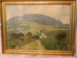 Tablou,peisaj rural, Peisaje, Realism