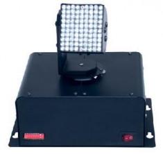 MOVING HEAD CU LEDURI , CAP MOBIL LUMINI DISCO PE LED , MODEL 1 . foto